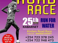 Shadrack Koech became 5th on the Kirdam Road Race