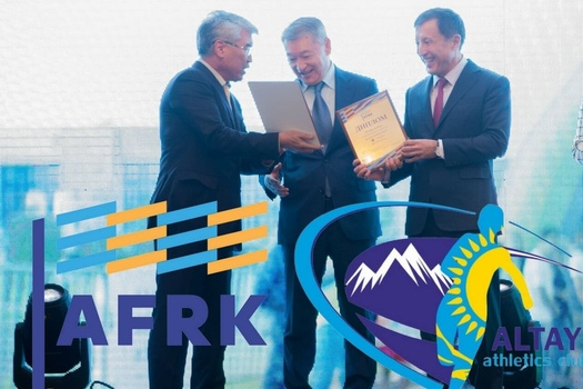Altay Athletics club was elected as the Project of the Year 2017