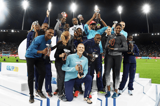 The Diamond League is becoming more popular