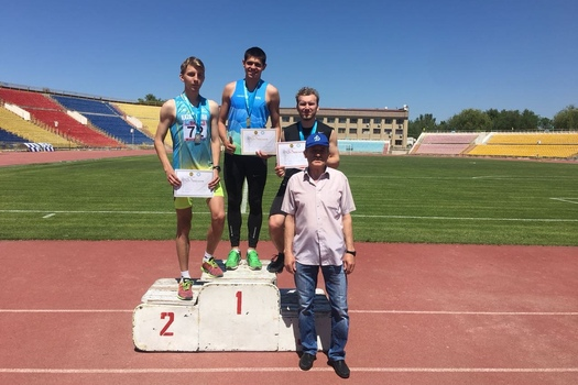 Mikhail Litvin and Irina Ektova took first places on the Spring KZ Championships