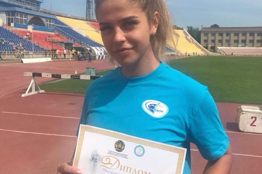 Varvara Nazarova took first place on the Youth Championship of Kazakhstan